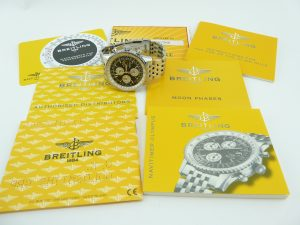 Breitling Navitimer Box and Papers