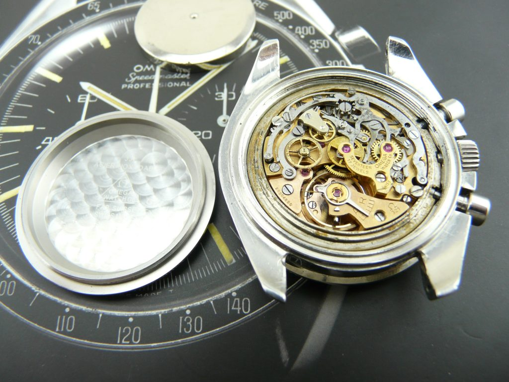 Omega Speedmaster vintage watch repair
