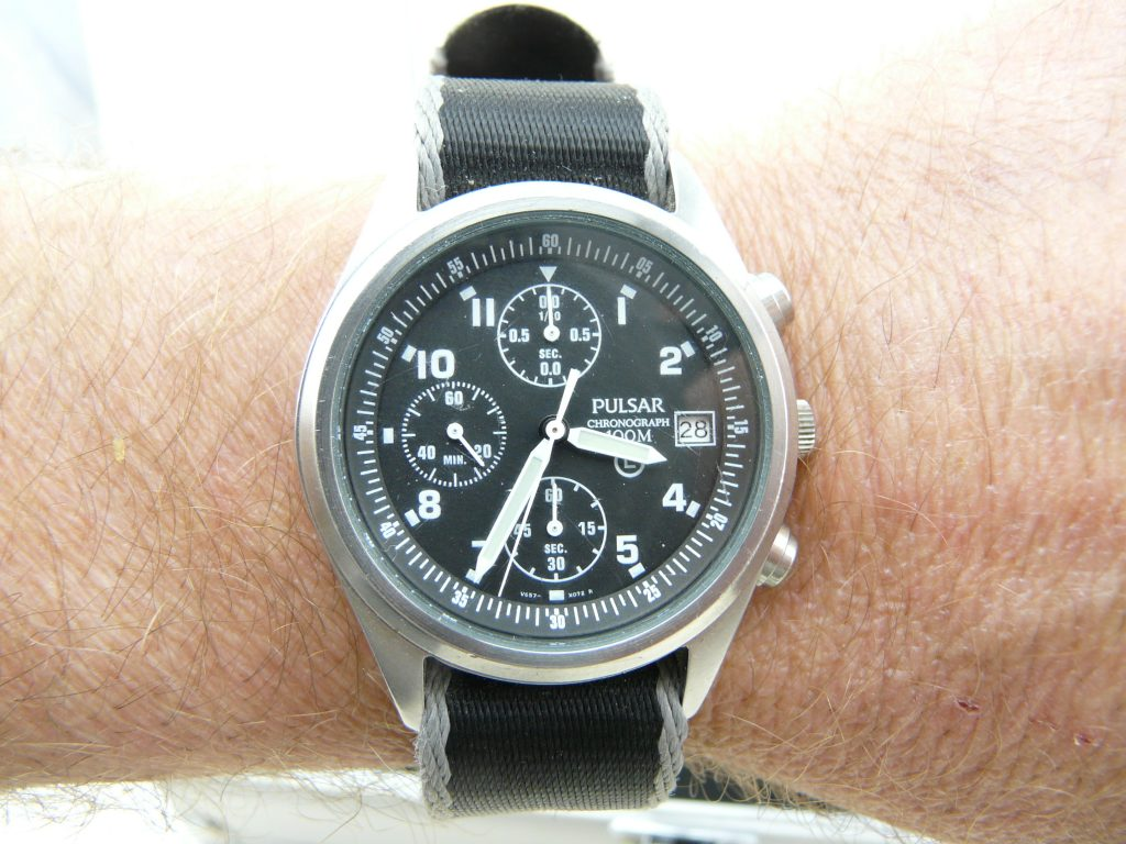 Pulsar Chronometer NATO issue        10 Of My Favourite Watches