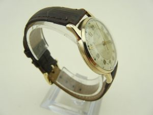 Gold Tudor Watch