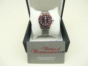 Birthday watch