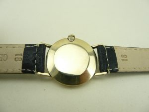 Gold cased watch