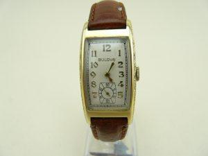Bulova gold watch