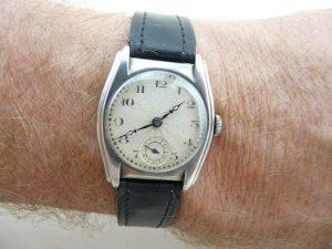 Silver RR watch
